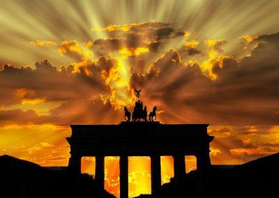Puerta-Brandenburgo-Puesta-sol
