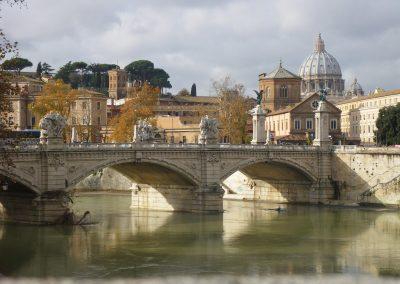 Roma-Vaticano-Puente-Milvio