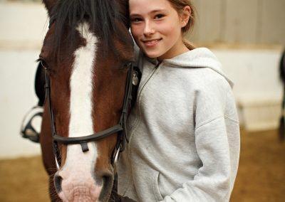 ir en caballo